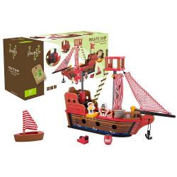 Jouéco dřevěná pirátská loď 36m+
