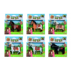 Kôň Beauty Pferde, 11 cm, 6 druhov