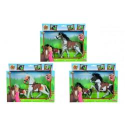 Kôň Beauty Pferde set, 11 a 19 cm, 3 druhy