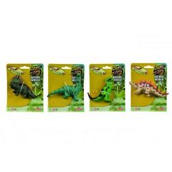 Gumový strečový dinosaurus, 4 druhy