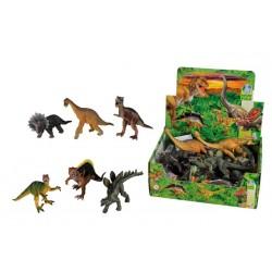 Figúrka dinosaura 14-16cm, 6 druhov, DP12
