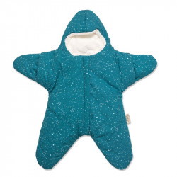 Baby Bites fusak STAR Winter Esmerald Green
