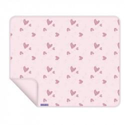 Dooky deka Blanket UNI Pink Hearts