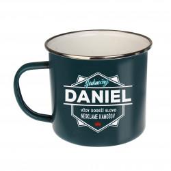 """Plechový hrnček """"Daniel"""""""
