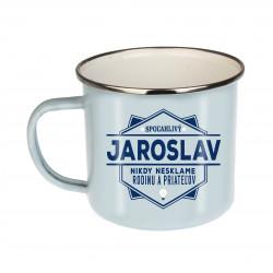 """Plechový hrnček """"Jaroslav"""""""