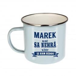 "Plechový hrnček ""Marek"""