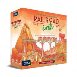 ALBI Railroad Ink - Červená edícia