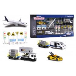 Letisko Lufthansa hracia súprava