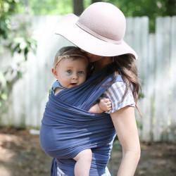 Nosič detí / šatka Boba Wrap Vintage Blue