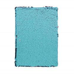 ALBI Blok s flitrami - Modrý