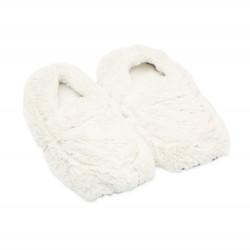 ALBI Hrejivé papuče svetlo béžové
