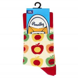 ALBI Ponožky - Jablká