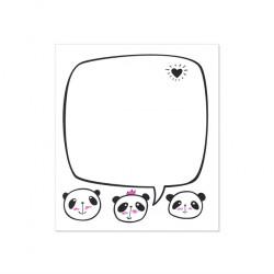 ALBI Samolepící bloček - panda