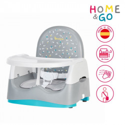 Badabulle prenosná stolička HOME & GO Grey