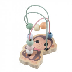 Jouéco the Wildies Family drevený mini labyrint Monkey 12m+