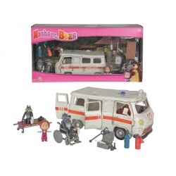 Masha and the Bear Ambulance playing set