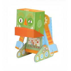 Grumpy robot