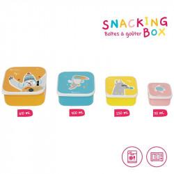 Desiatové misky Snacking box 4ks