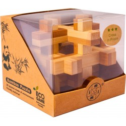 Bambusový hlavolam - Kvádre