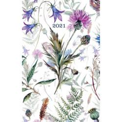 ALBI Vreckový diár - Lúčne kvety
