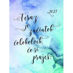 Motivačný diár - Začiatok