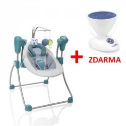 Babymoov hojdačka Swoon Bubble Aluminium + Project Light ZADARMO