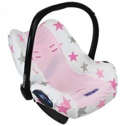 Dooky potah na autosedačku Seat Cover 0+ Pink Stars