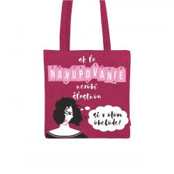 Plátená taška - Nakupovanie