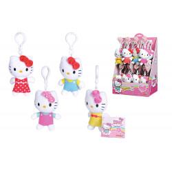 Plyšová kľúčenka Hello Kitty, 10 cm, 4 druhy