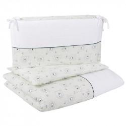 CEBA Bielizeň posteľná 3-dielna džerzej Medvedíky