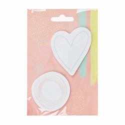 Súprava samolepiacich bločkov - Makeup