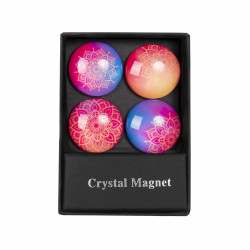 ALBI Krystalové magnetky - kruhy mandala