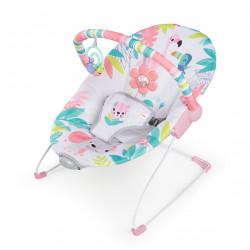 BRIGHT STARTS Lehátko vibrujúce Flamingo Vibes™ 0m+, do 9kg