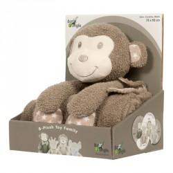 Bo Jungle plyšová hračka s dekou Monkey