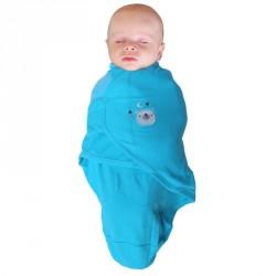 Bo Jungle zavinovačka B-Wrap SMALL Blue Bear
