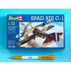 Plastic ModelKit letadlo 04192 - Spad XIII C-1 (1:72)