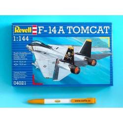 Plastic ModelKit letadlo 04021 - F-14A Tomcat (1:144)