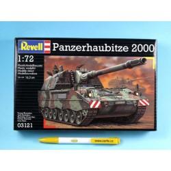 Plastic ModelKit tank 03121 - Panzerhaubitze PzH 2000 (1:72)