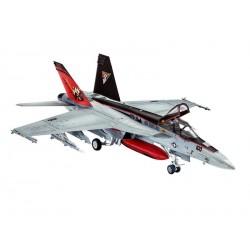 Plastic ModelKit letadlo 03997 - F/A-18 E Super Hornet (1:144)