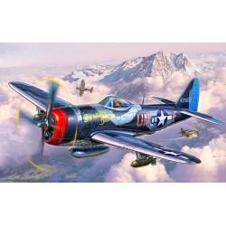 Plastic ModelKit letadlo 03984 - P-47 M Thunderbolt (1:72)