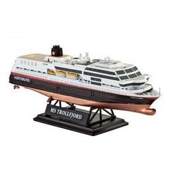 Plastic ModelKit loď 05815 - MS Trollfjord (Hurtigruten)