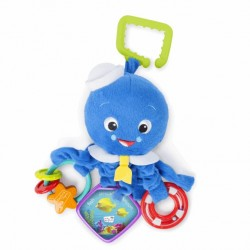 Hračka na C-krúžku aktívna Octopus™ 0m+