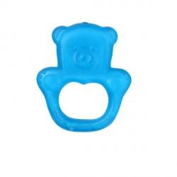 Hryzačka chladiaca medveď - modrá