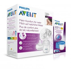 Avent odsávačka mlieka Natural+VIA5ks 180ml