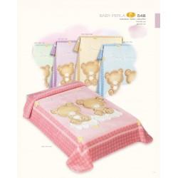 Deka detská COPITO GOLD 548 Pink 110x140