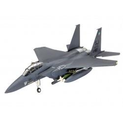 Plastic ModelKit letadlo 03972 - F-15E Strike Eagle & Bombs (1:144)