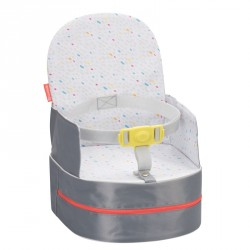 Badabulle přenosná židlička 2v1 One-the-Go Grey