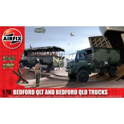 Classic Kit military A03306 - Bedford QLD/QLT Trucks (1:76)