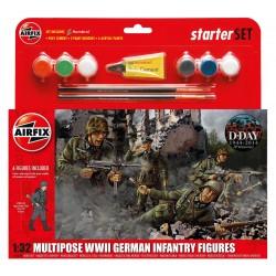 Starter Set figurky A55210 - German Infantry Multi-Pose (1:32)