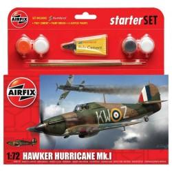 Starter Set letadlo A55111 - Hawker Hurricane Mk1 (1:72)